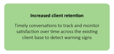 Increased client retention